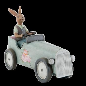 Kaninchen im Auto, 22*9*17cm