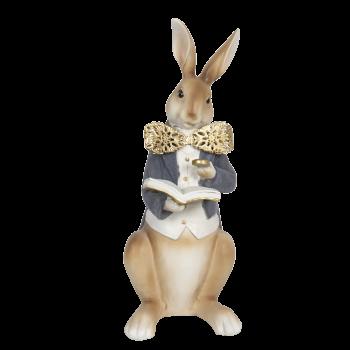 Kaninchen mit Buch