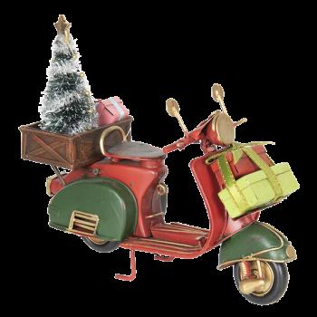 Modell Motorroller, 18x7x16cm