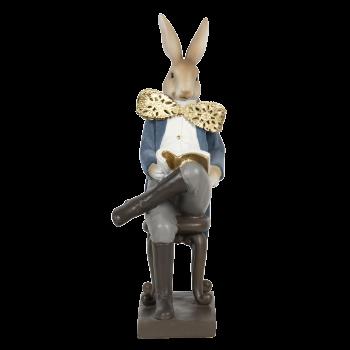 Kaninchen mit gekreuzten Beinen 17*15*41cm
